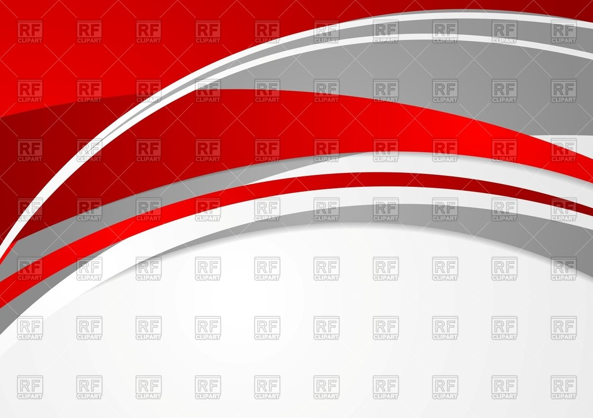 1200x846 Abstract Red And Grey Wavy Background Vector Image Vector
