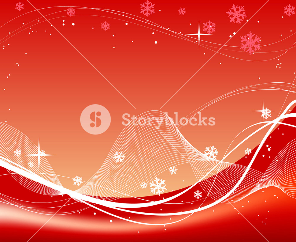1000x817 Christmas Red Abstract Background. Vector Illustration. Fully