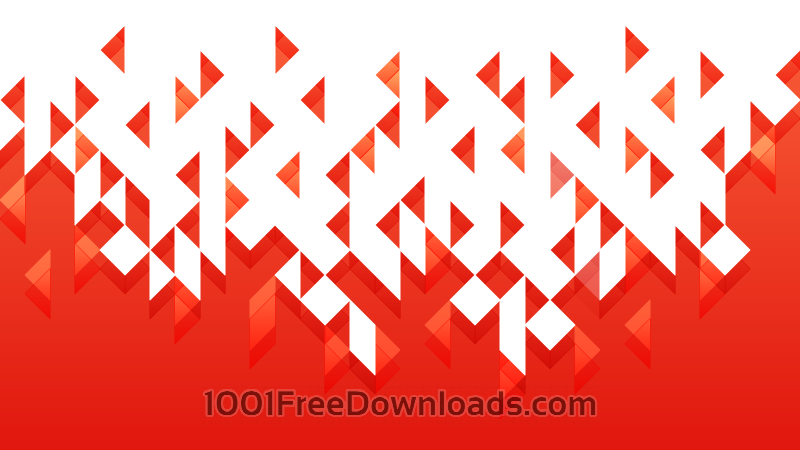 800x450 Free Vectors Dissolving Red Triangles Abstract