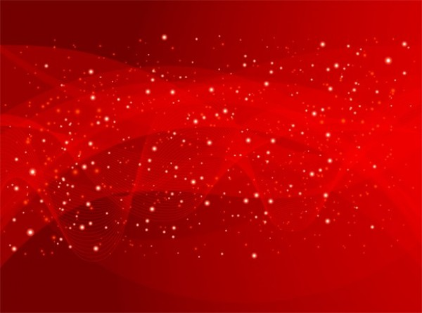 600x445 Gauzy Starry Red Abstract Vector Background