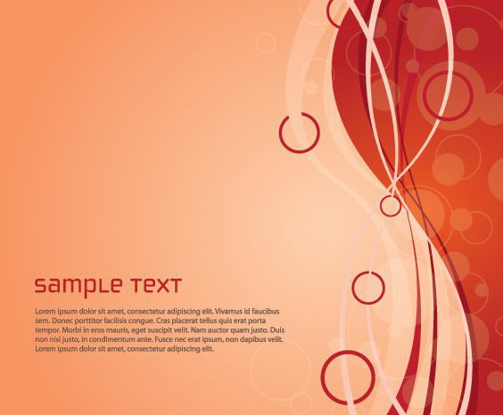 564x466 Red Abstract Waves Bubbles Background Free Vector Download 328349
