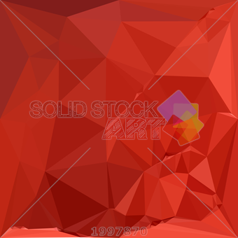 340x340 Stock Illustration Of Vector American Rose Red Abstract Geometric