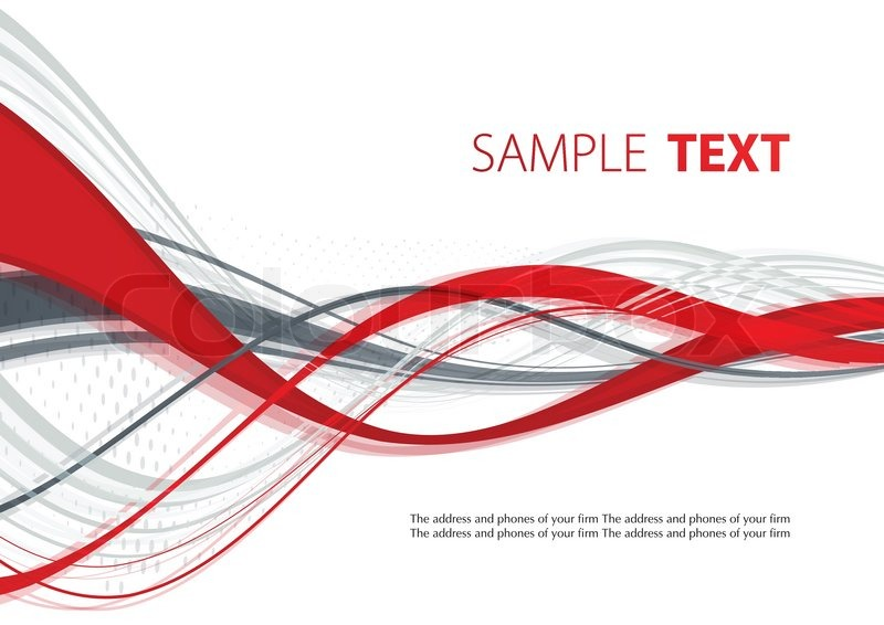 800x566 Abstract Red And Gray Template. Vector Stock Vector Colourbox