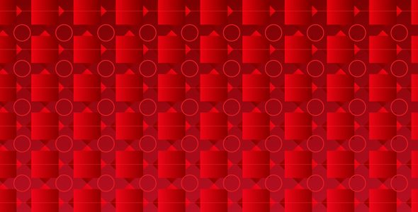 590x300 Abstract Vector Red Colour Background