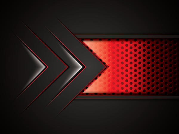 600x450 Black With Red Metal Background Vectors Material 07 Free Download