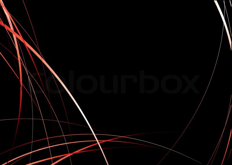 800x569 Flowing Red And Black Background Image With Copyspace Stock