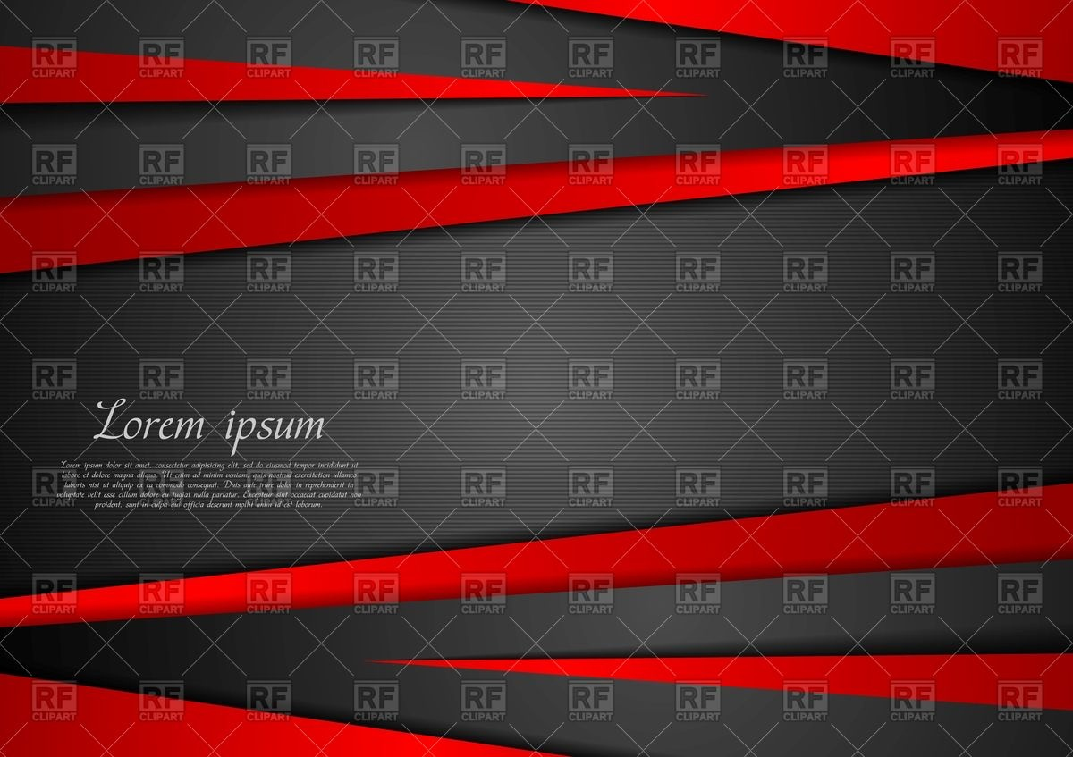 1200x847 Hi Tech Abstract Red And Black Background With Stripes Vector