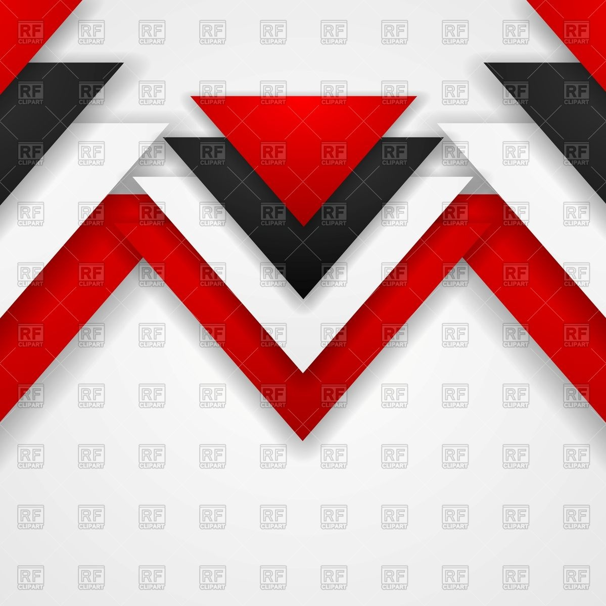 1199x1200 White Corporate Background With Red And Black Triangles Vector