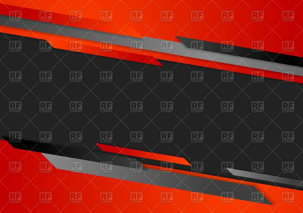 1200x846 Abstract Red And Black Corporate Background Vector Image Vector