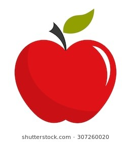 258x280 Red Apple Vector Illustration 260nw 307260020 Within Red Apple