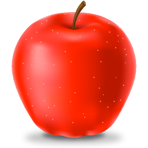 500x500 Red Apple Icon(Fruits) Svg(Vector)public Domain Icon Park