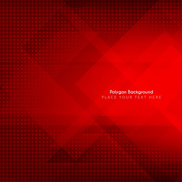 626x626 Polygonal Red Background Vector Free Download