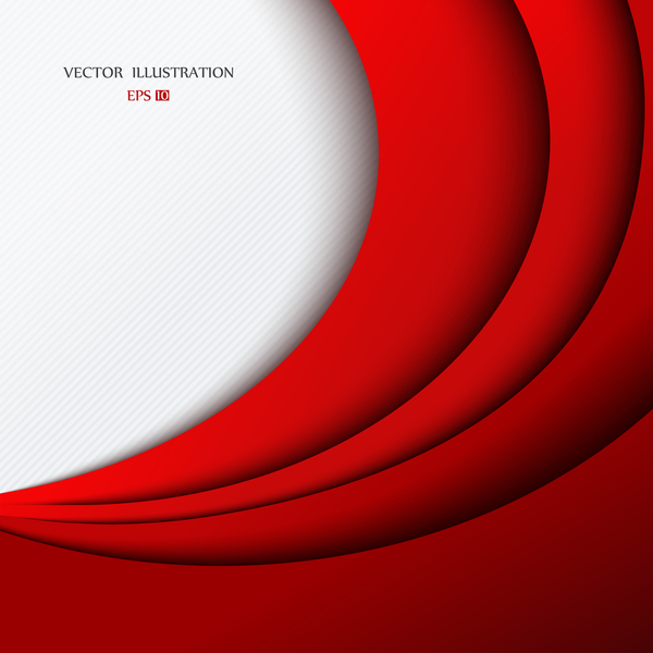 600x600 Red Layered Background Vector Free Download