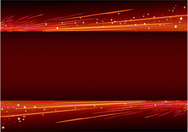 600x422 Abstract Light With Red Background Vector Free Download