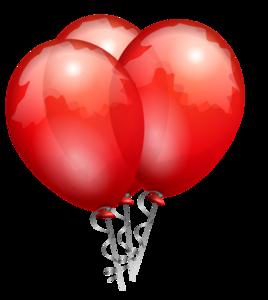 Red Balloon Vector