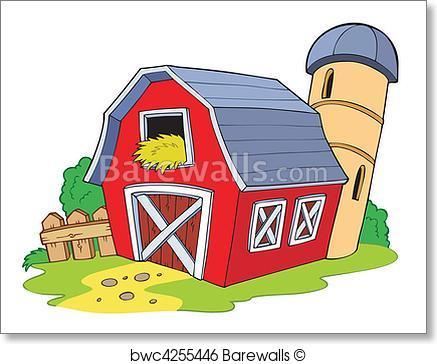Red Barn Vector
