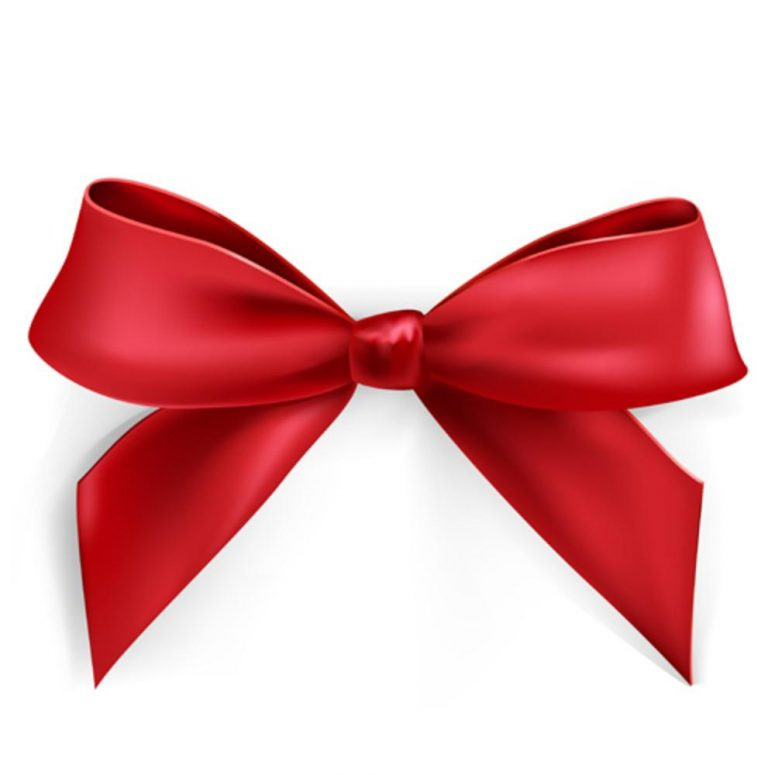 775x775 Red Bow Desktop Backgrounds