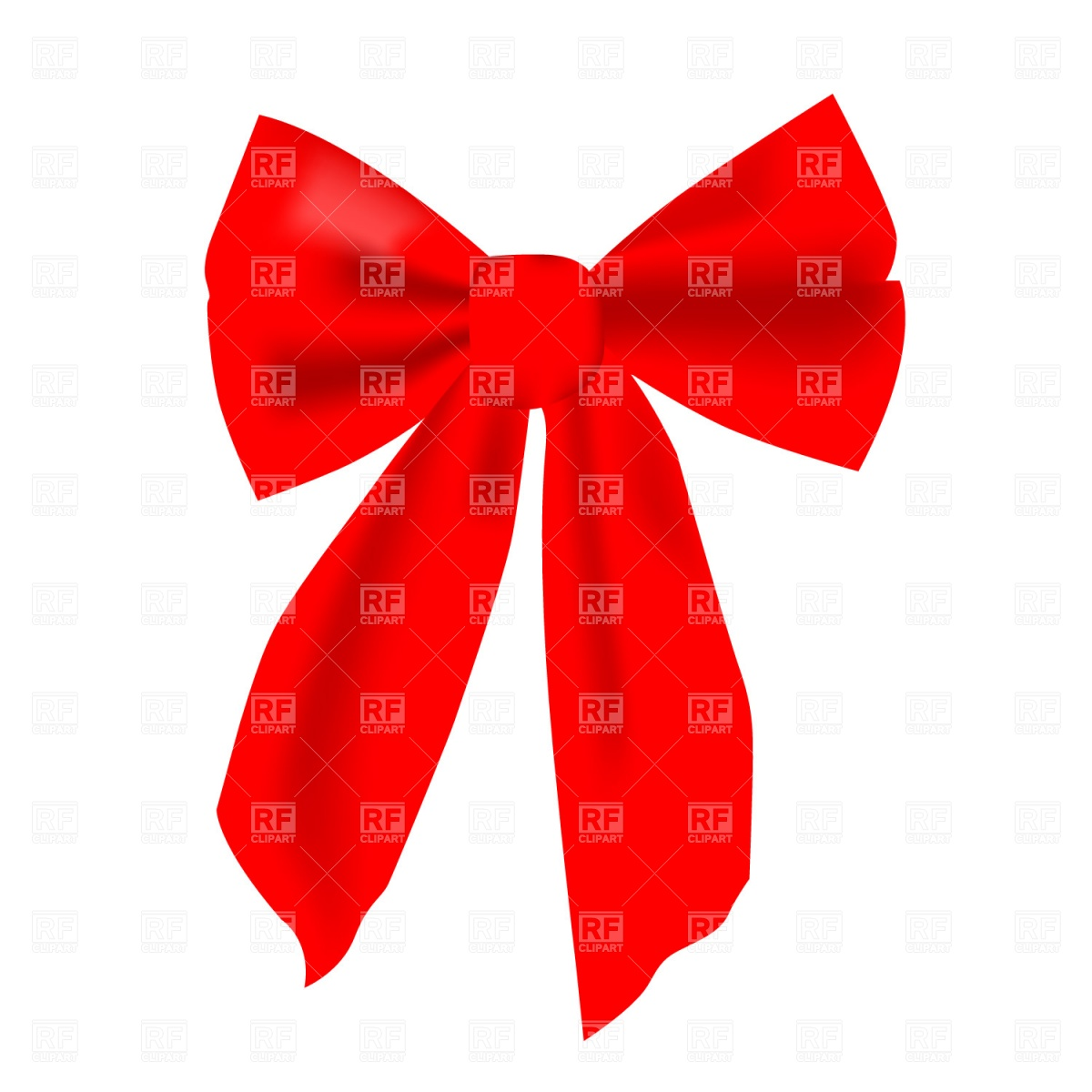 1200x1200 Red Bow Free Vector Image Vector Artwork Of Beauty, Fashion