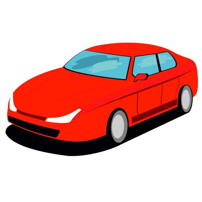 660x660 Free Red Car Vector Graphics.eps Psd Files, Vectors Amp Graphics