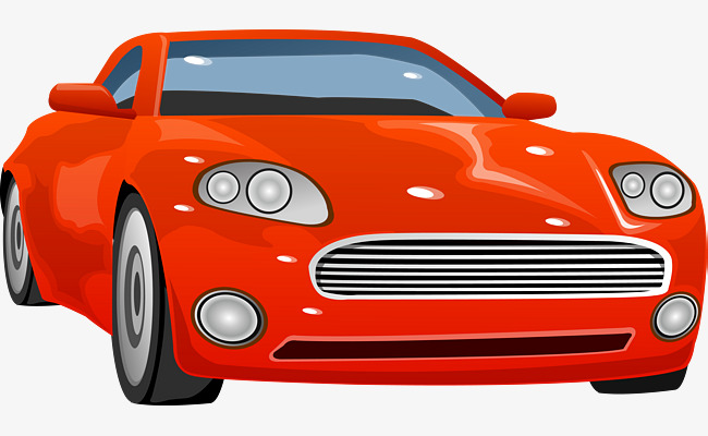 650x400 Hand Painted Red Car, Hand Vector, Car Vector, Car Clipart Png And