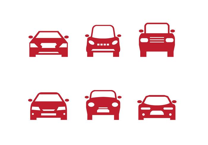 700x490 Red Car Front Silhouettes