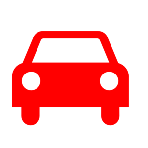 300x300 Red Car Silhouette Clip Art