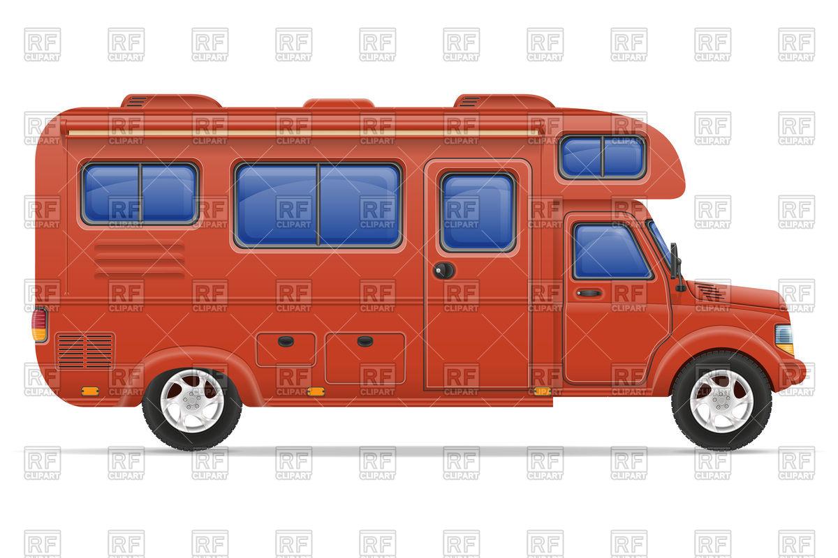 1200x800 Red Car Van Caravan Camper