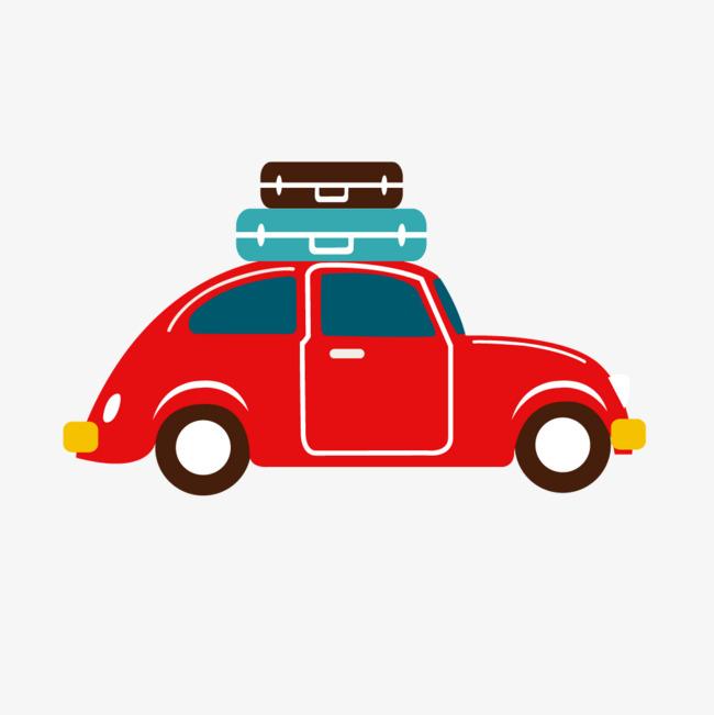 650x651 Cartoon Red Car Cargo, Cartoon Vector, Car Vector, Cartoon Png And