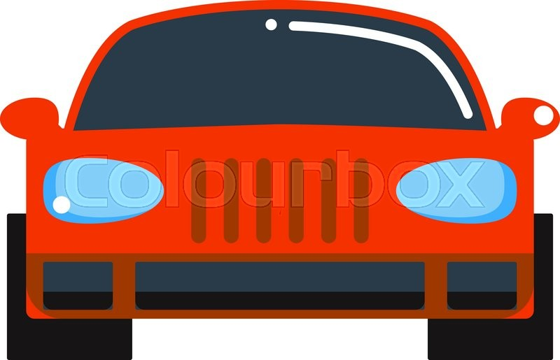 800x515 Sedan Red Car Design And Red Car Shiny Technology Style Vector