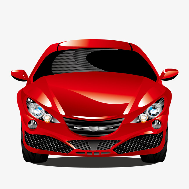 650x651 Vector Red Car, Car Vector, Car Clipart, Vector Png And Vector For