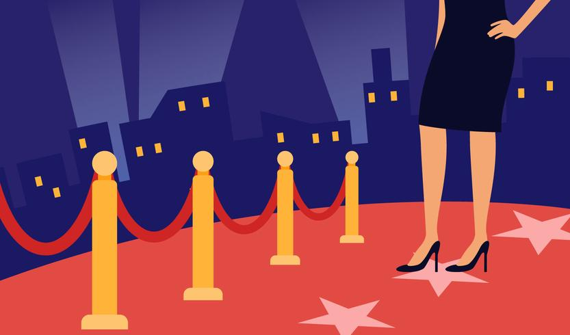 833x490 Iconic Hollywood Red Carpet Vectors