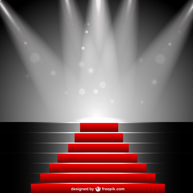626x626 Red Carpet Under Sportlight Vector Free Download