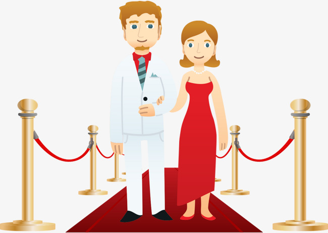 650x462 The Couple Walked The Red Carpet, Vector, New Personality, Pair