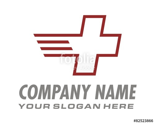 500x400 Red Cross Logo Image Vector Stock Image And Royalty Free Vector