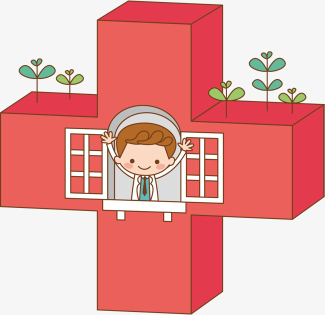 650x630 Red Cross On The Doctor, Cross Vector, Doctor Vector, Vector