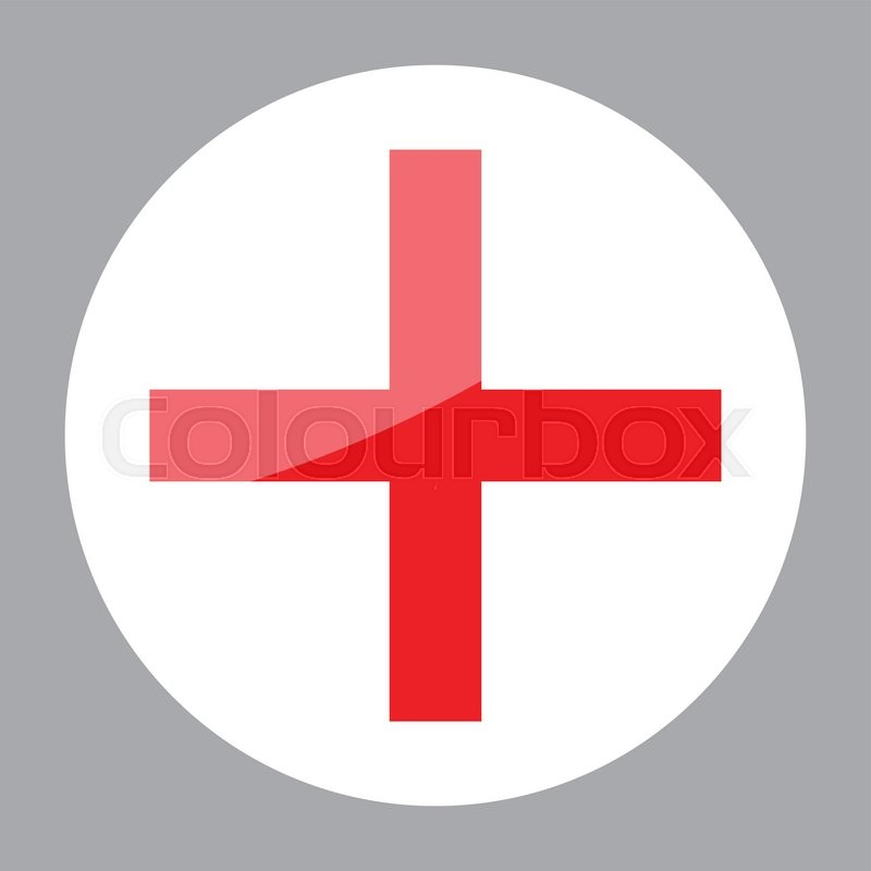 800x800 Sign Red Cross Hospital Clinic Symbol. Cross, Red Cross Aid