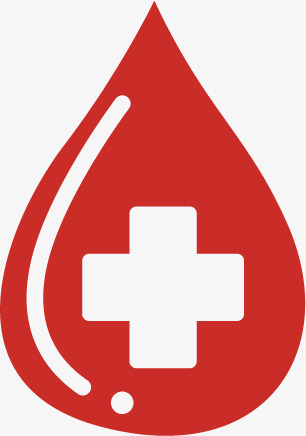 306x436 Vector Blood Donation, Red Cross, Transfusion Of Blood, Blood