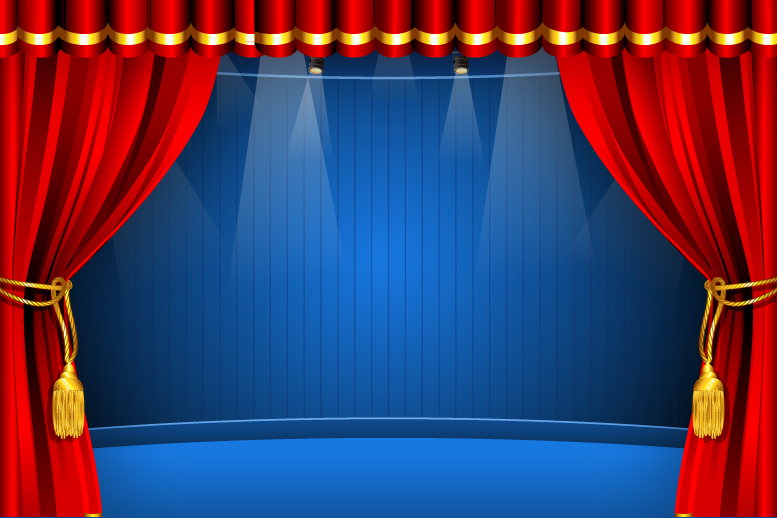 777x518 Red Curtain Free Vector Graphic Download
