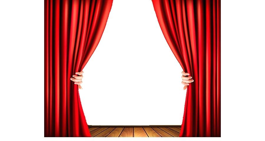 900x480 Red Curtain Light Theater Drapes And Stage Curtains Clip Art High