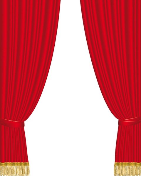 480x600 Red Curtain For Backstage Design Vector Free Vector In