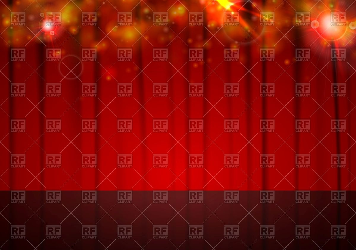 1200x845 Abstract Background With Red Curtain Vector Image Vector Artwork