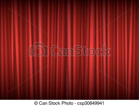 450x343 Theater Red Curtain Vector Background. Theater Red Curtain, Vector