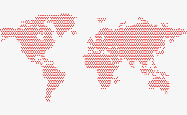 650x400 Red Dot In The World Map, Dot Vector, World Vector, Map Vector Png