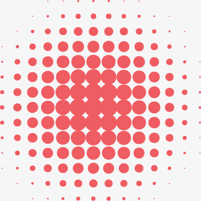 650x651 Vector Red Dot Ball, Vector, Red Dots, Spherical Dots Png And