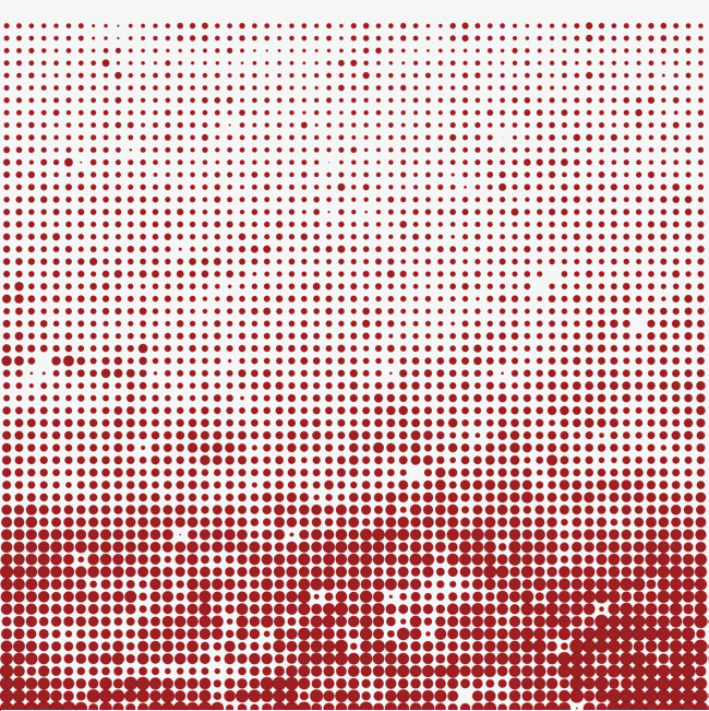650x651 Vector Red Dot Decoration Pattern, Red Dot, Dots, Vector Diagram