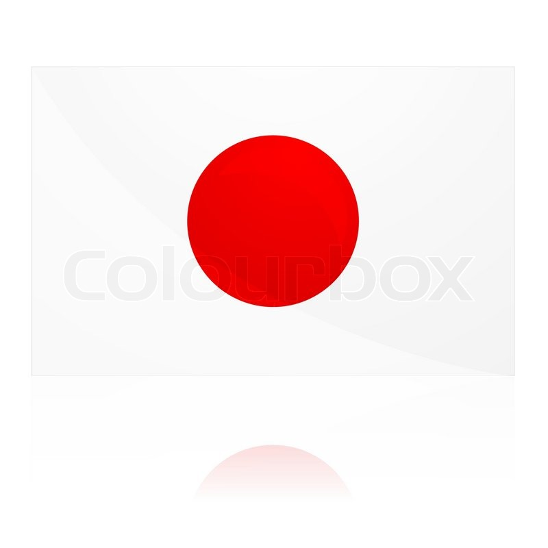 800x800 Illustration Of Red Dot With White Background Stock Vector