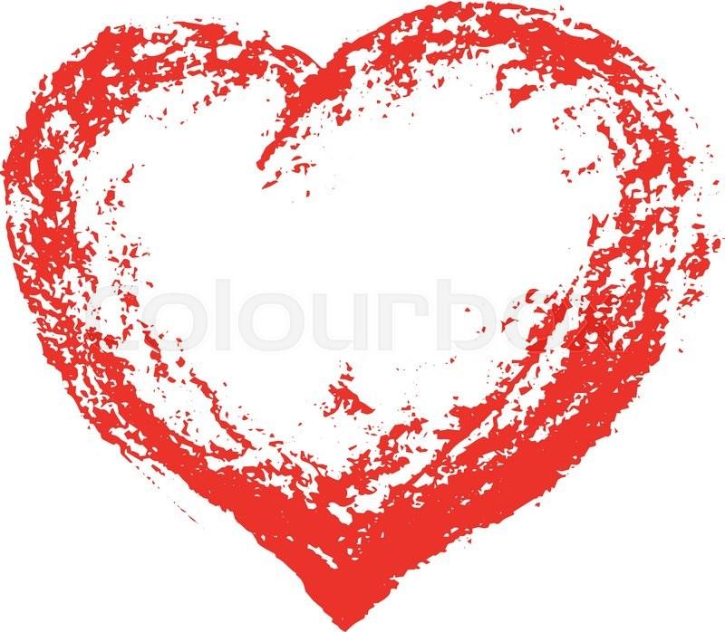 800x698 Grunge Heart . Red Heart . Heart Shape. Distressed Heart . Heart