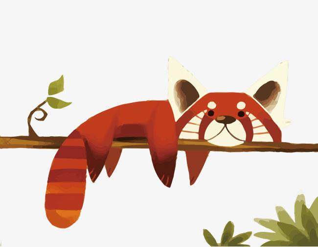 650x504 Vector Red Panda, Panda Vector, Small Panda, Cartoon Png And