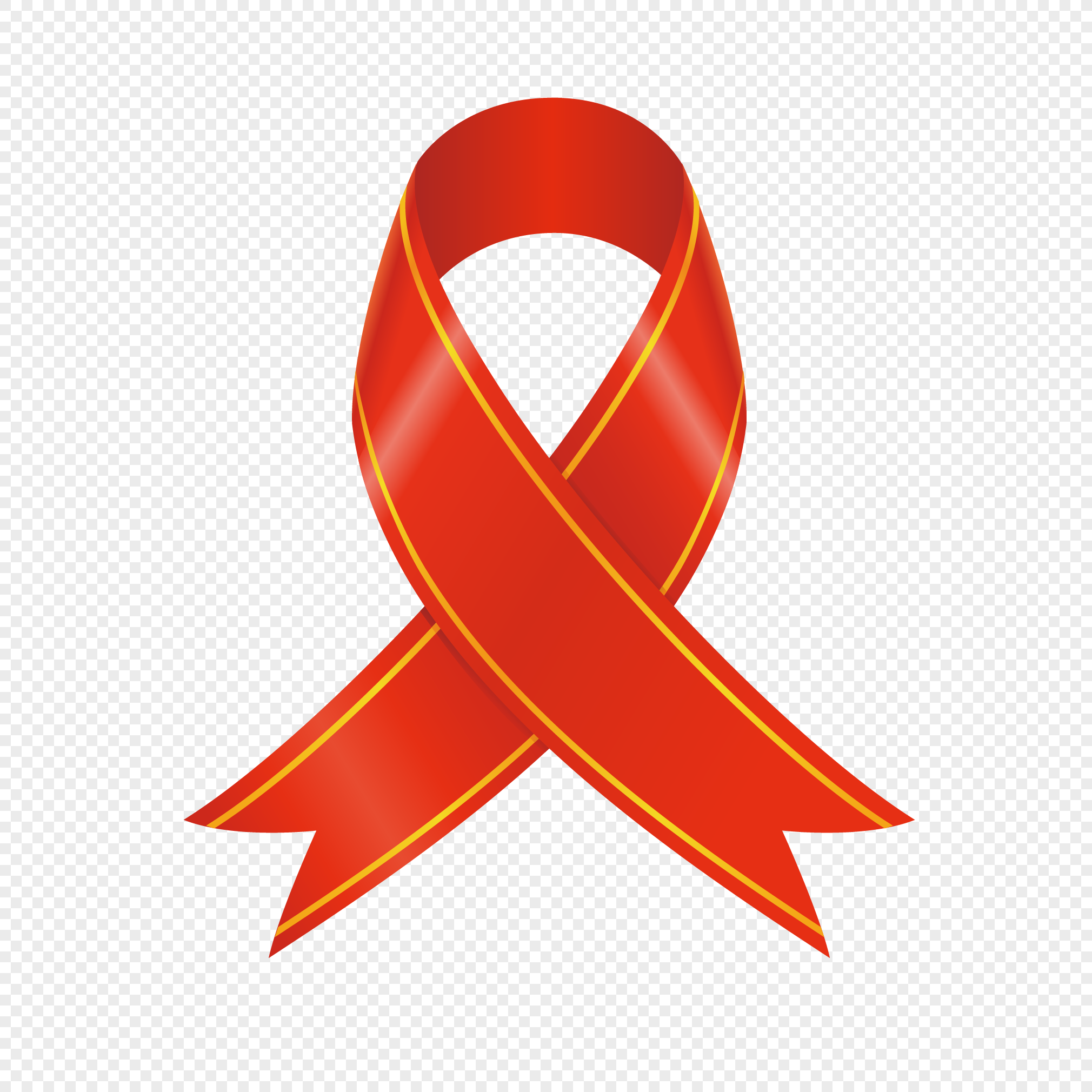 2020x2020 Gift Red Ribbon Ribbon Vector Material Png Image Picture Free