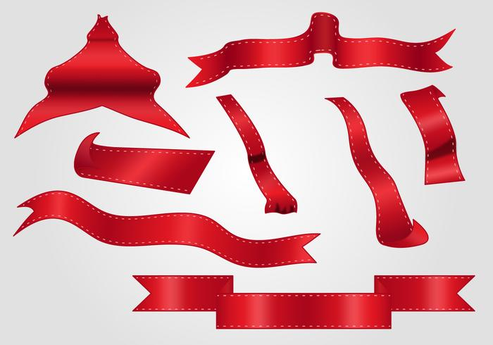 700x490 Red Ribbon Free Vector Art